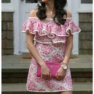 ALEXIS Paula Off Shoulder Lace Dress Size XS